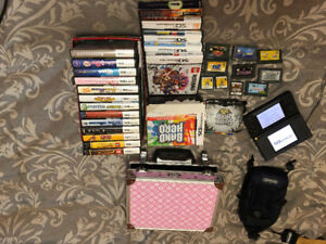 DS Lite with multiple games like new