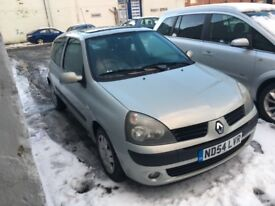 Renault Clio Extreme 1.2 16v (silver) 2004