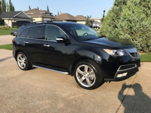 2010 Acura MDX Elite Black on Black MINT CONDITION  ONE OWNER