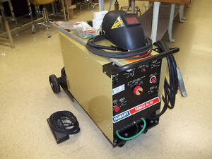 HOBART TIG WELDER AC/DC with WHEELED CART
