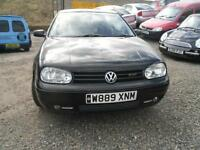2000 VOLKSWAGEN GOLF 2.0 GTi 3dr NICE IN BLACK