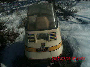 TWO BARN FIND ELAN SKI-DOO'S single n twin cyclinders