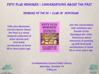 """""""Fifty plus Memories: Conversations About the Past""""book event"""
