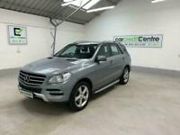 SILVER MERCEDES ML350 M-CLASS 3.0 BLUETEC SPECIAL EDITION 258 BHP *from £60 p/w*
