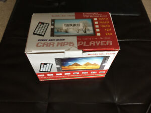 Brand New Double DIN Touch Screen Stereo with Back Up Camera Kit