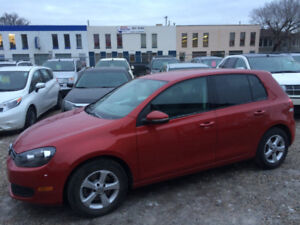 2012 VOLKSWAGEN GOLF, MANUAL, ONLY 105,000kms, ONE YEAR WARRANTY