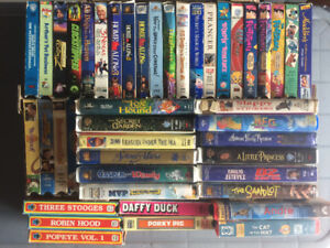 Kids and Family VHS Movies