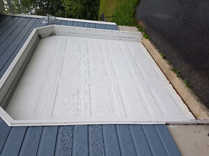9' wide x 8' high garage doors, openers and hardware for sale