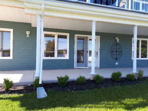Quiet one bedroom apartment for rent in Shediac River
