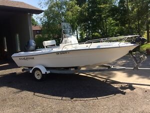 ((( CENTER CONSOLE FISHING BOAT )))