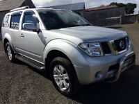 2005 Nissan Pathfinder 2.5dci 7 Seater / Black Leather / may part exchange