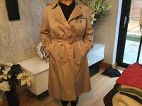 Burberry Coat Size 12-14 unisex