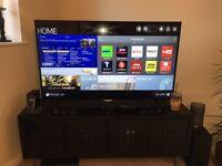 55 inch LG LED Ultra HD 4K Smart TV with Sound Bar & Subwoofer