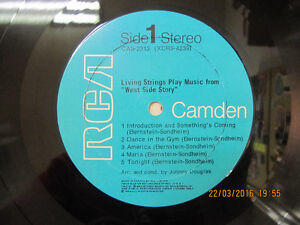 ClassicLivingStrings PlayMusicFrom West Side Story LP Circa 1969 London Ontario image 4