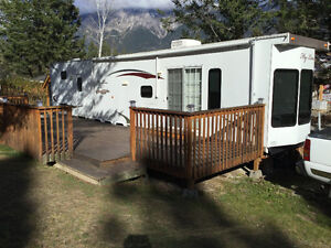Titled RV Property with Park Model Trailer