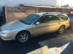 2001 FORD TAURUS LOW KMS