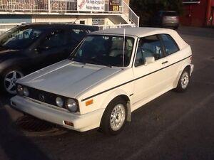 1991 Volkswagen Cabrio Cabriolet