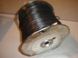 Spool of TEW #14 wire (300m) - Black