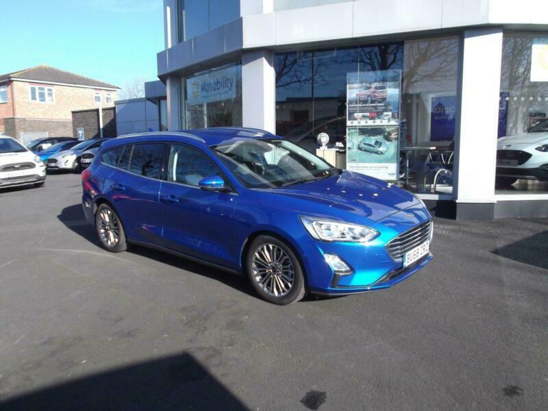 Ford Focus 1 5 150ps Ecoboost Titanium X Estate In Desert Island Blue In Stratford Upon Avon Warwickshire Gumtree