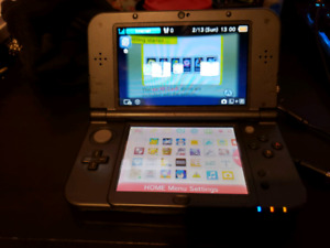 3DS with 3  physical games and 16 digital games on a 32gb sd