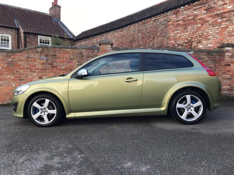 2010 Volvo C30 Sports Coupe R 1 6 100 Design Full Leather Petrol Green Ma
