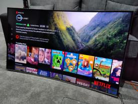 "Samsung 55"" UltraHD 4K Smart Curved TV"