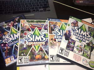 THE SIMS 3 GAMES FOR SALE