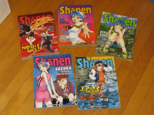 BD/ MANGA (lot de 5 )##*  littérature auteur   SHOENN