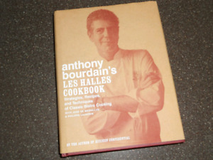 Anthony Bourdain book collection