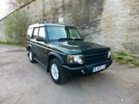 2003 53'reg Land Rover Discovery 2.5 TD5 GS*7 Seater* 80,000 miles*