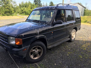 1998 Land Rover Discovery SUV, Crossover