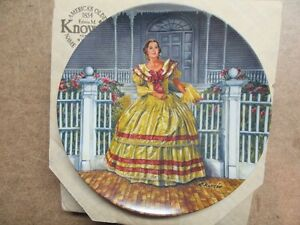 1984 GONE WITH THE WIND 3RD ISSUE MELANIE 8.5""