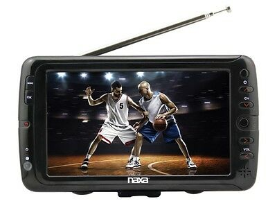 "Naxa NT-70 7"" Portable/Rechargeable Digital TV +USB/SD Multimedia Payler"