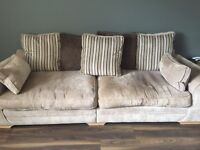 SCS Three seater sofa and two seater snuggle seat