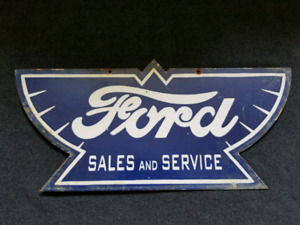 FORD Sales and Service  Double Sided Sign