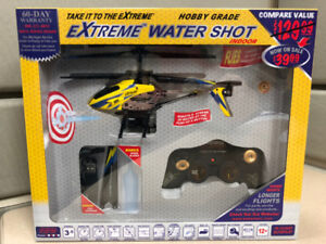 Extreme RC helicopter