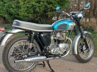 1968 TRIUMPH TIGER 90 SPORTS 350. MATCHING NUMBERS.***SIMILAR REQUIRED***