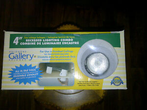 """4"""" Recessed Lighting Combo all in one pack"""