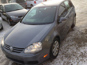 2008 VOLKSWAGEN RABBIT DRIVES PERFECT