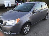 2009 Chevy Aveo hatchback