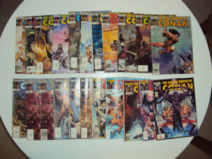 The Savage Sword of Conan - 22 Comics for $40