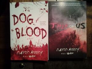 LOOKING FOR THESE 2 DAVID MOODY BOOKS!