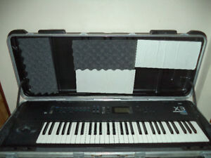 Korg X3 Synthesizer Keyboard WorkStation W/ SKB ATA Case