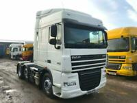 DAF XF 105.460 6x2 MID LIFT TRACTOR UNIT ULEZ COMPLIANT for sale  Wrexham