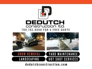 SIDEWALK SWEEPING & COMMERCIAL SNOW REMOVAL Strathcona County Edmonton Area image 1