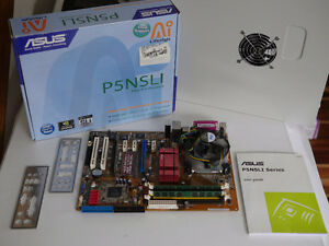 Asus P5NSLI + Intel Duo E6600 2.40GHz + Kingston DDR2 4GB #3