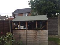7x5 Apex garden shed