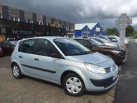 2004 (54) RENAULT MEGANE SCENIC 1.4 16v Manual Silver Very Low Mileage FSH