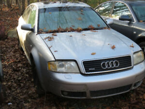 2004 AUDI A6 x 2 for parts - 4.2 and 3.0