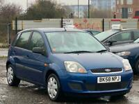 * 58 2009 FORD FIESTA 1.4L STYLE CLIMATE 5 DOOR + 2 KEEPERS + IDEAL 1ST CAR *